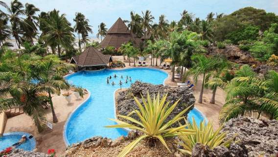 Kenia, Hotel Diani Reef Beach Resort & Spa
